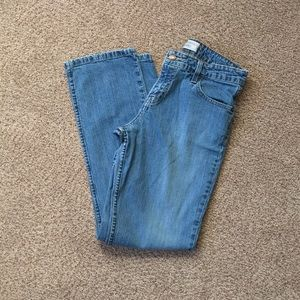 Levi Strauss Mid Rise Straight Jeans Size 8
